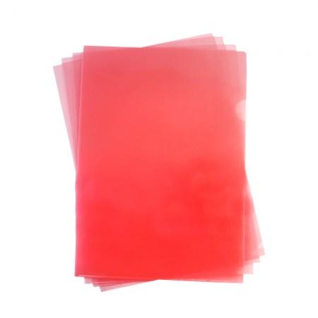 E310 紅L型易見夾16-102 310x220mm