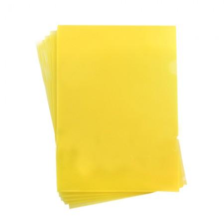 E310 黃L型易見夾16-102 310x220mm