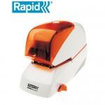 Rapid R-5080e橘蓋電動釘書機80張