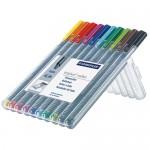 STAEDTLER MS403SB10三角鋼珠筆10色組