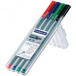 STAEDTLER MS403SB4三角舒寫鋼珠筆4色組