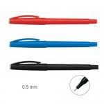 雄獅 100紅0.5mm快樂簽字筆