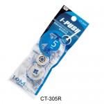 SDI CT-305R藍輕鬆按彈匣式修正帶替換帶