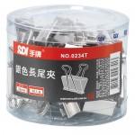 SDI 0234-T銀色32mm長尾夾36支