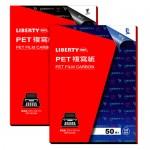 利百代CBP-003-BK黑PET發票複寫紙50入