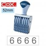 COX 2號8連 號碼印52mm