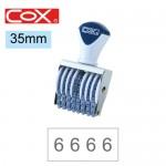 COX 4號8連 號碼印35mm