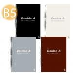 Double A B5/50頁 線圈筆記本(辦公室系列)