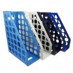 WIP AMF6800(水藍)開放式圓孔雜誌箱