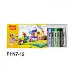 Pentel PHN8-12 (PHN7) 粉蠟筆12色