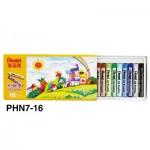 Pentel PHN8-16 (PHN7) 粉蠟筆16色
