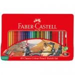 Faber-Castell 115849 油性色鉛筆48色