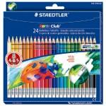 STAEDTLER MS144NC24 油性色鉛筆24色