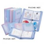 雙鶖 PA-5148(48片)粉彩拉鍊包