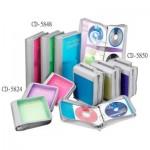 雙鶖 CD-5824(24片)冰彩拉鍊包