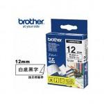 BROTHER TZ-231 護貝標籤帶 (12mm 白底黑字)