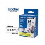 Brother TZe-261 護貝標籤帶 ( 36mm 白底黑字 )
