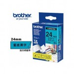 Brother TZe-551 護貝標籤帶 ( 24mm 藍底黑字 )