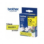 BROTHER TZ-631 護貝標籤帶 (12mm 黃底黑字)