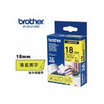 Brother TZe-641 護貝標籤帶 ( 18mm 黃底黑字 )