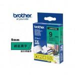 BROTHER TZ-721 護貝標籤帶 (9mm 綠底黑字)