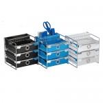 ABEL 60753 藍 歐風三層輕巧收納櫃