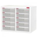 樹德 A4-210H白櫃/明抽五層雙排效率櫃