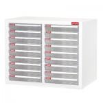 樹德 A4-220P白櫃/明抽10層雙排效率櫃
