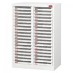 樹德 A4X-236P白櫃/明抽18層雙排效率櫃
