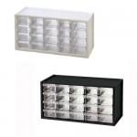 樹德A9-520小幫手零件分類箱(黑/白)