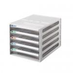雙鶖BB-10050 摩登透明5層效率櫃