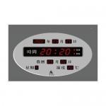 鋒寶 FB-3039 數字時鐘(橫式) 40×30×5cm